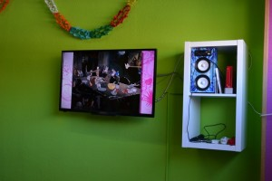 TV, Wii y Karaoke | Mi Gran Fiesta