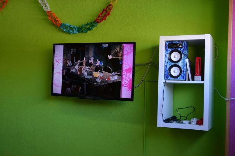 TV, Wii y Karaoke