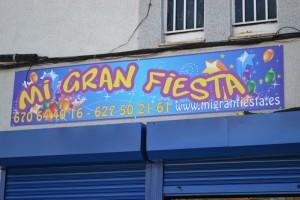 Rotulo Exterior | Mi Gran Fiesta